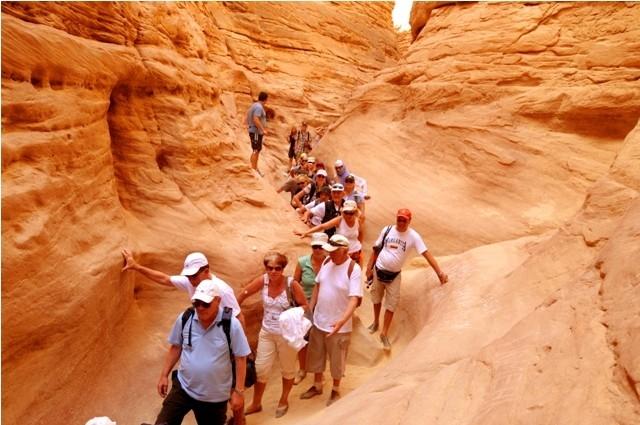 Coloured Canyon Sinai Egypt