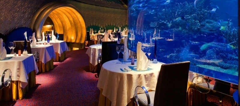Al Mahara Restaurante, Dubai