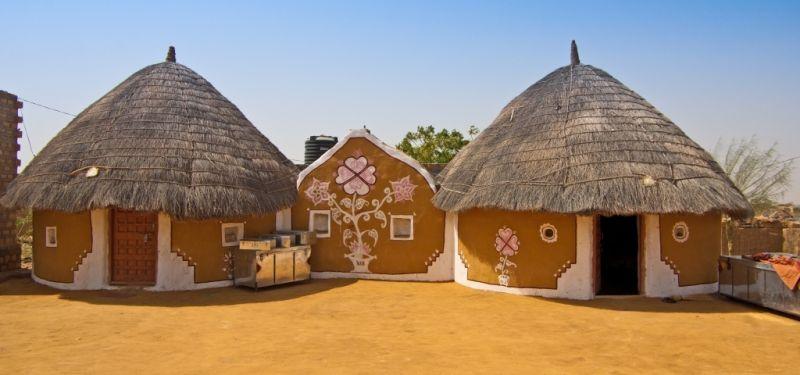 Image result for bishnoi village