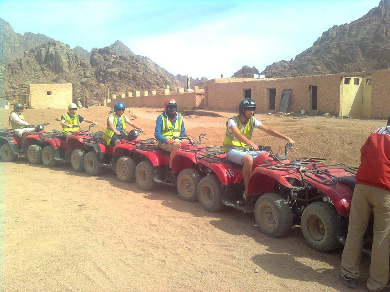 Sunset Desert Safari Trip By ATV Quad