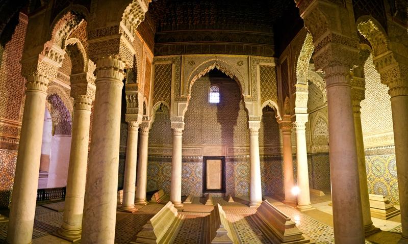 Saadian Tombs in Marrakesh