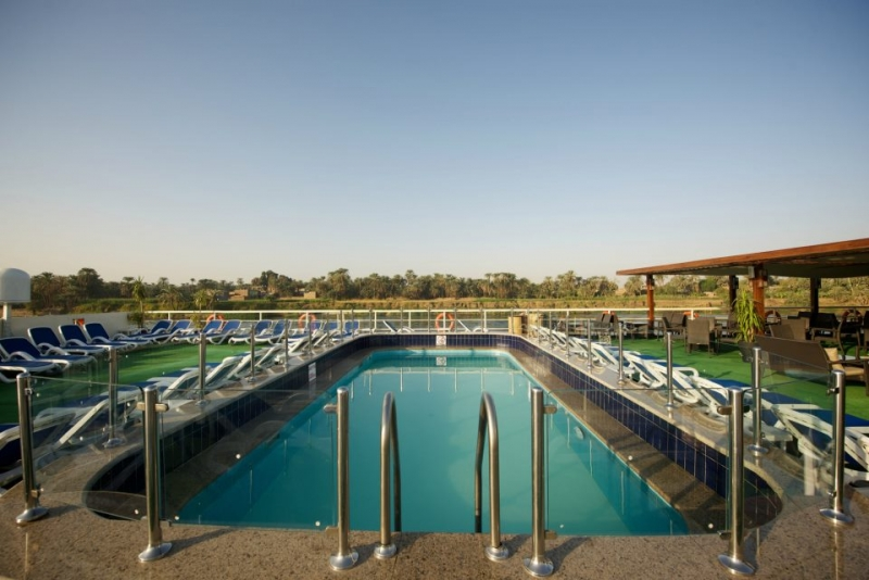 MS Presidential Nile Cruise Pool and Spa