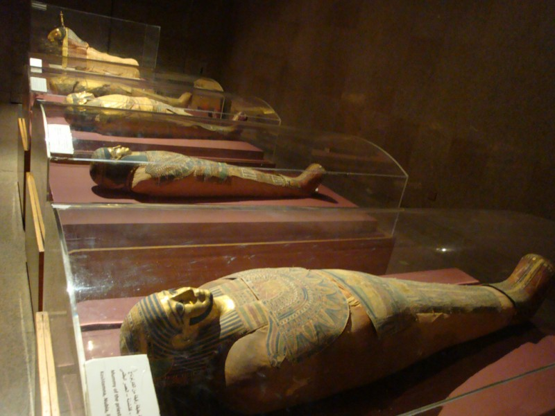 Golden Mummies of Nubian Museum