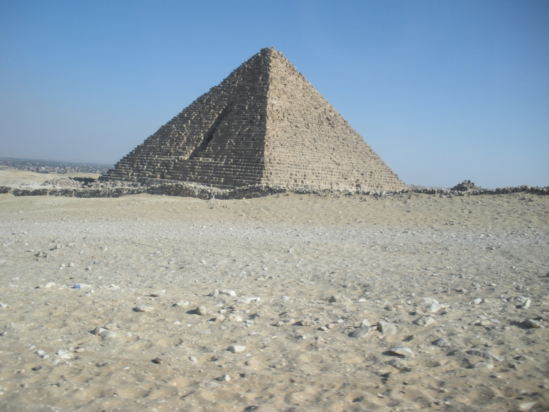 Menkaure (Mykerinus Pyramid) at Giza Necropolis