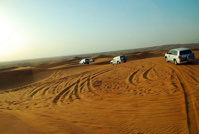 Wüstensafari Ausflug in Abu Dhabi