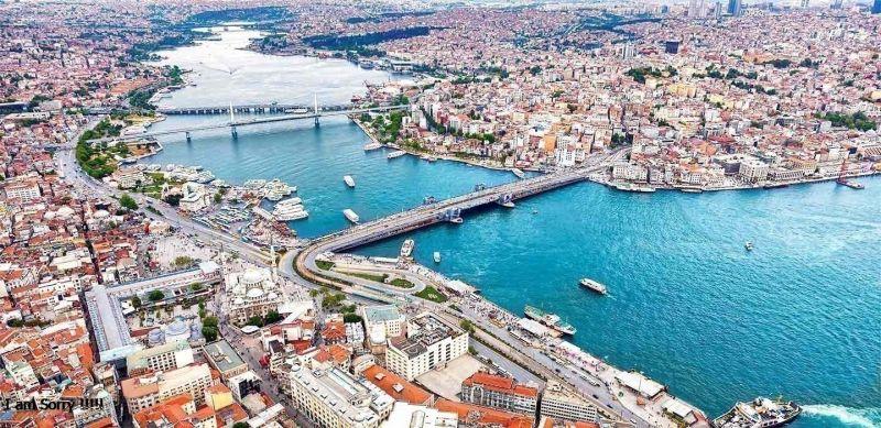 El Cuerno de Oro en Estambul