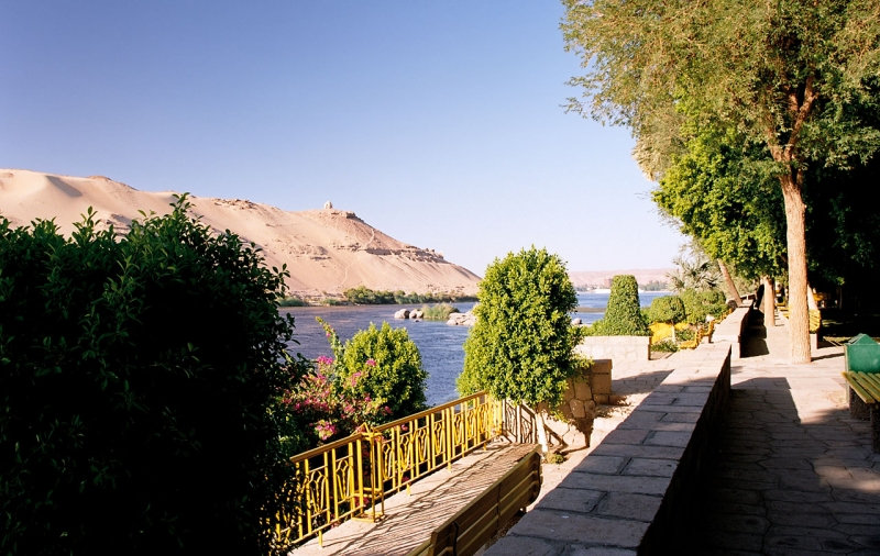 Kitchener's Island On The Nile