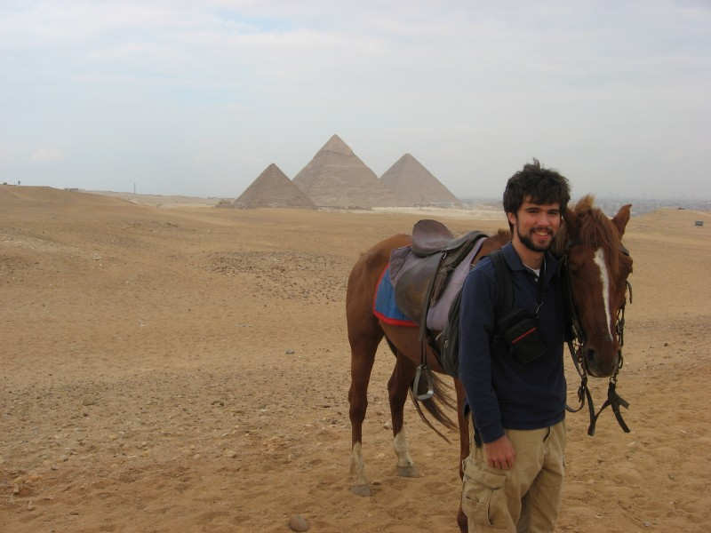 Horse Riding at Giza Pyramids