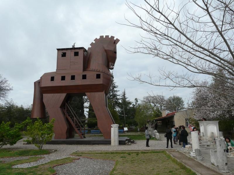 The Trojan Horse, Troy