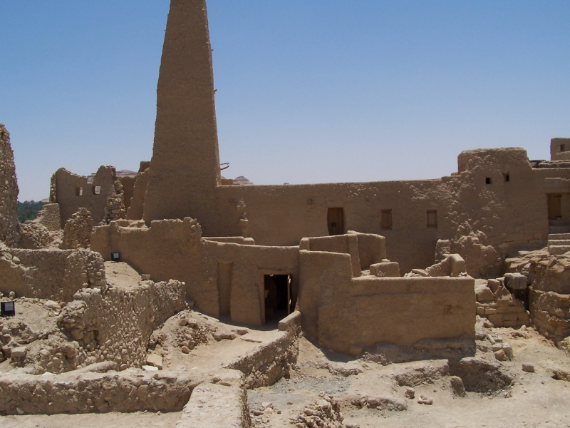 Temple of the Oracle, Siwa Oasis, Egypt.