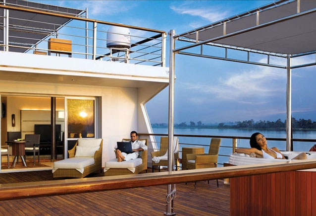The Oberoi Zahra Nile Cruise Sundeck