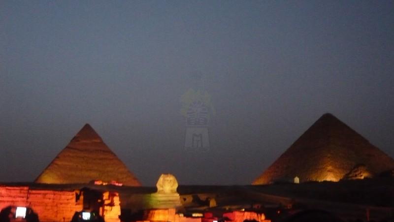 ギザピラミッドの音と光のショー
