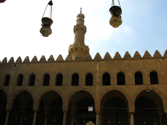 Iwan of Sultan Al Mansur Qalawun Mosque
