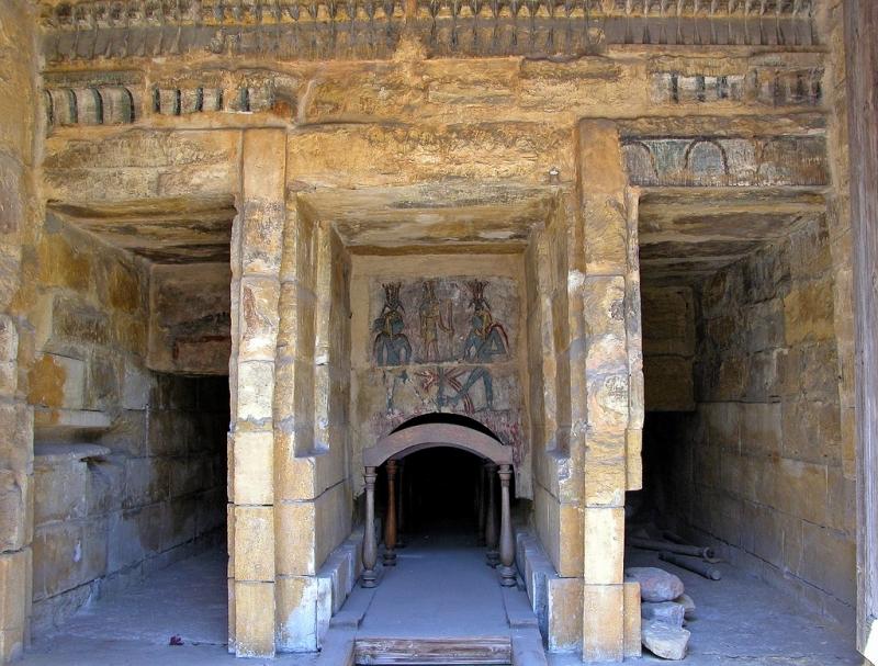 A Tomb Rebuilt inside the Greco-Roman Museum