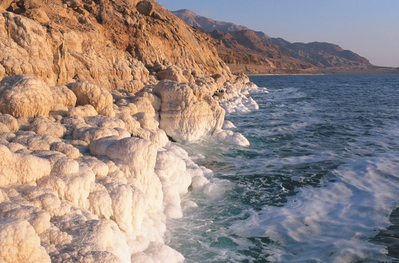 The Dead Sea Salty Formations