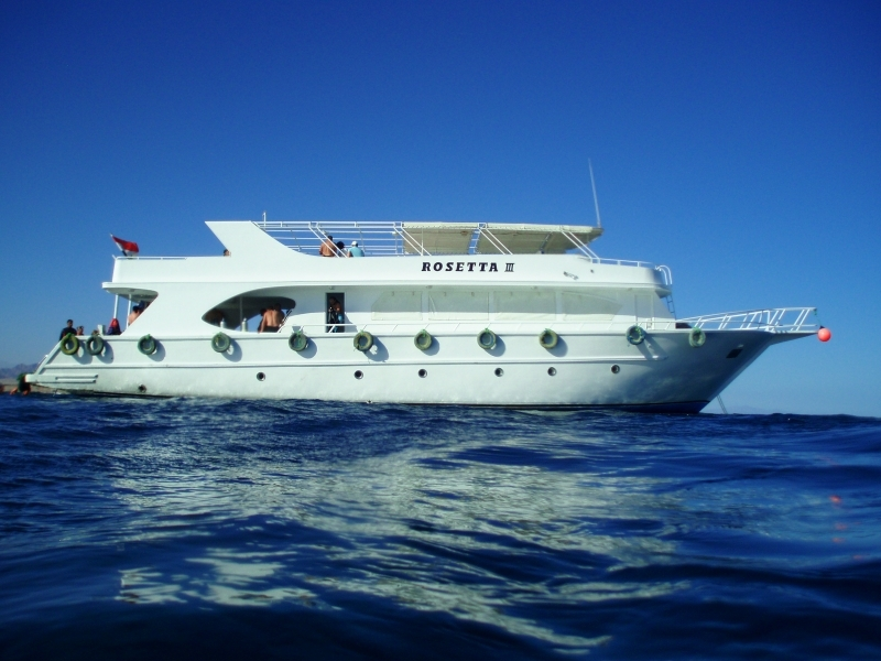 Scuba Diving Boat in Sharm