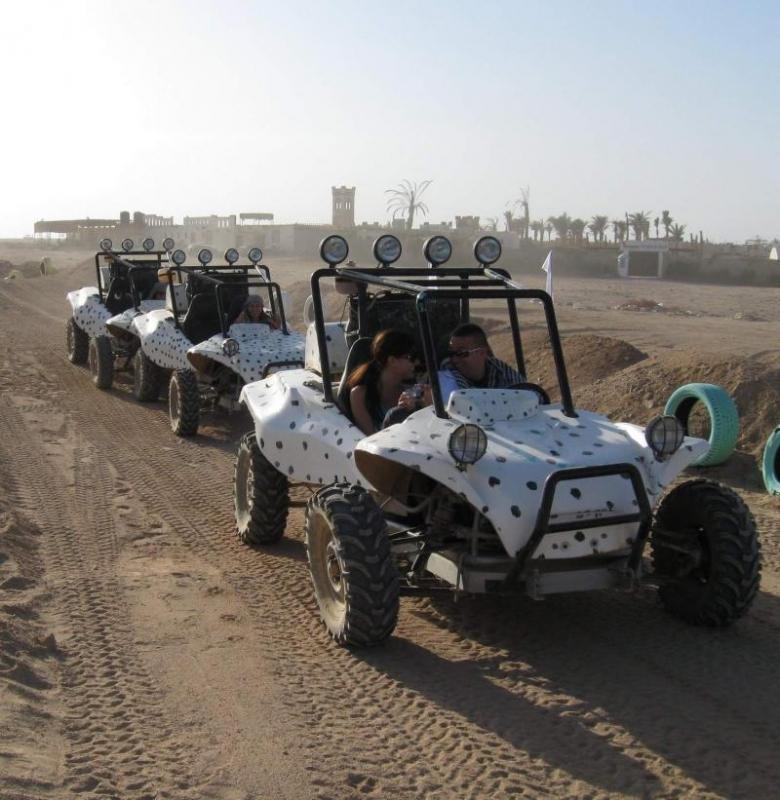 Sunset Car Buggy Safari