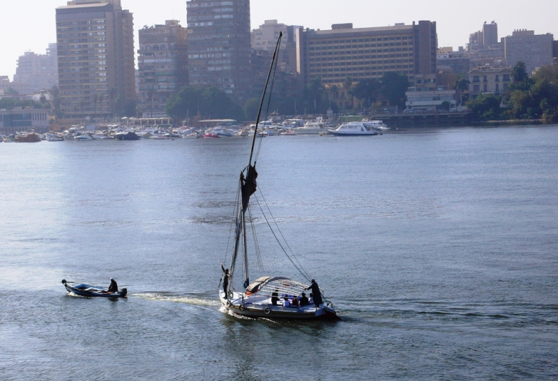 Felucca Sailing in Cairo