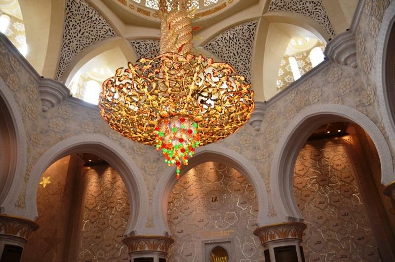 Inside Sheikh Zayed Grand Mosque, Abu Dhabi