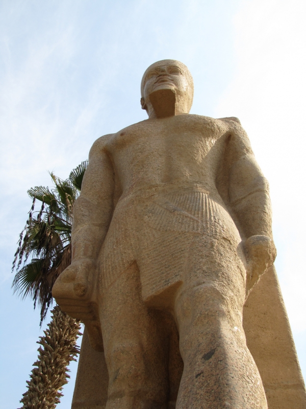 Statue of Rameses II in Open Museum