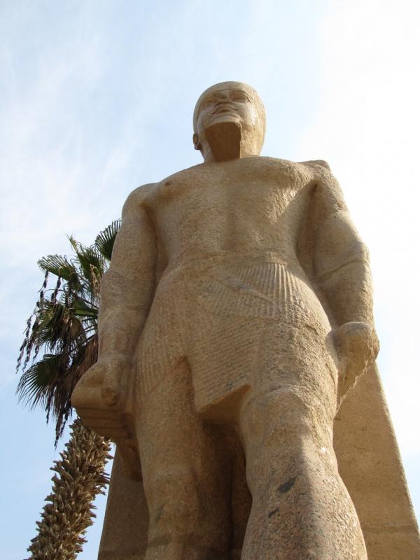 Statue of Rameses II in Open Museum