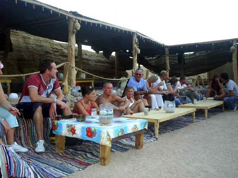 Bedouin Dinner style, Sharm