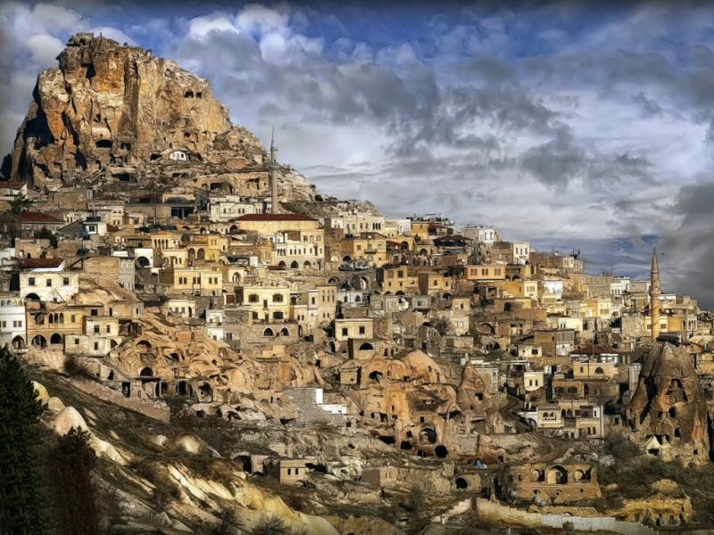 Uchisar Rock-Castle, Cappadocia