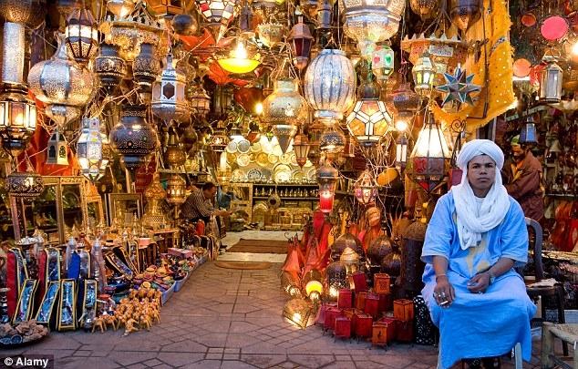 Souk Semmarine - Mercado de Marrakech