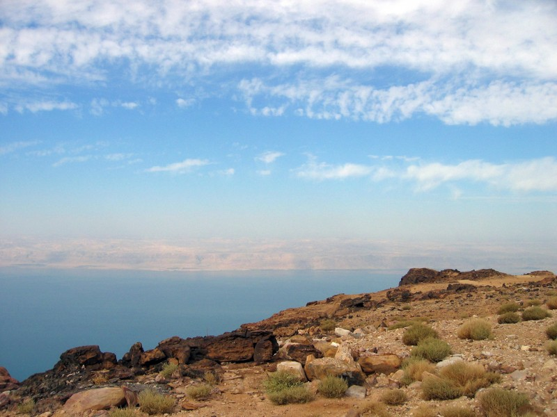 Incredible View of the Dead Sea
