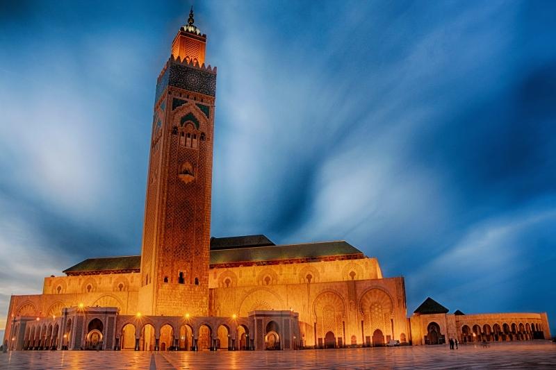 La Mezquita de Hassan II.