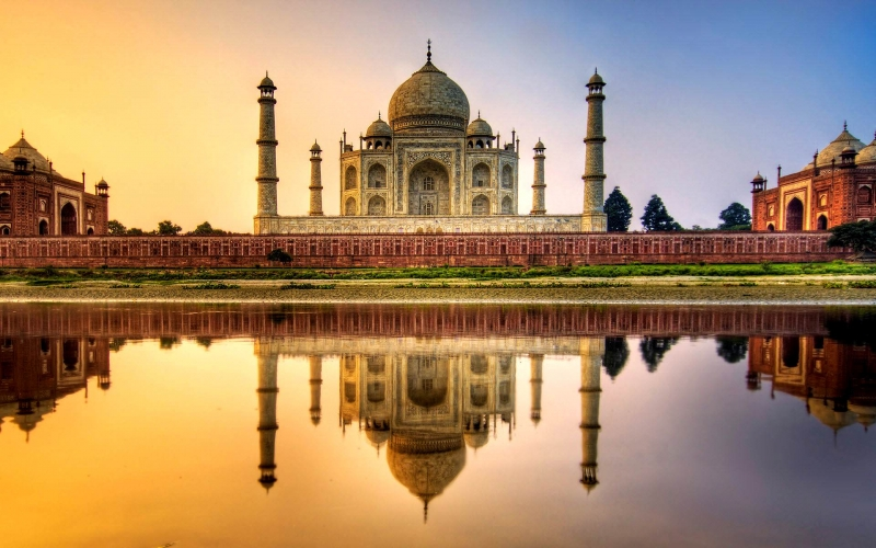 El Taj Mahal En India