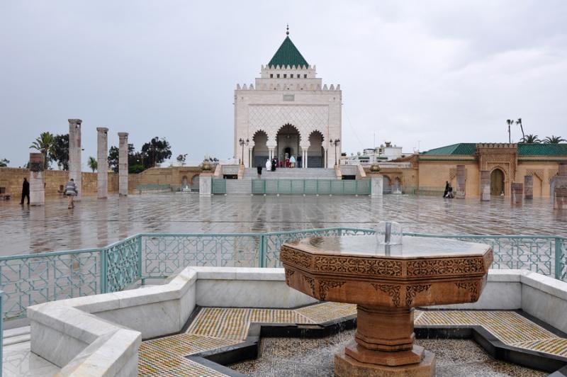 O mausoléu de Mohammed V - Rabat