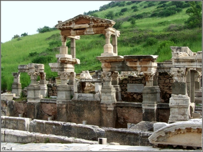 The Fountain of Trajan, Ephesus