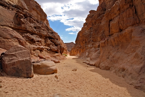 Safari to Colored Canyon in Nuweiba