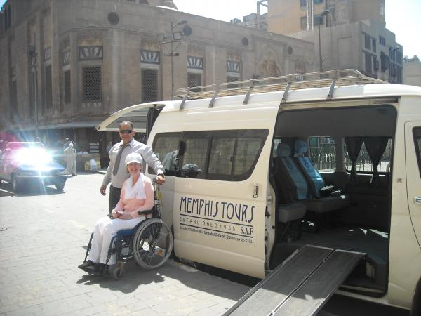 Wheelchair Accessible Tours at Islamic Cairo