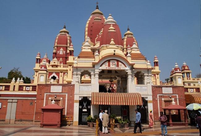 Fachada del Templo Birla, Delhi