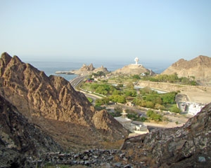 Riyam view in Oman