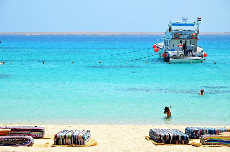 Relaxing  in Mahmya Beach