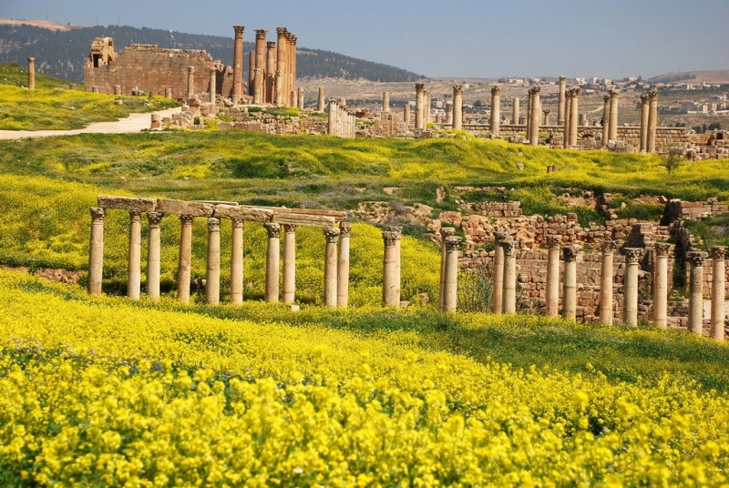 Jerash Greek City in Jordan
