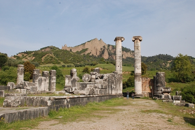 La antigua ciudad de Efeso