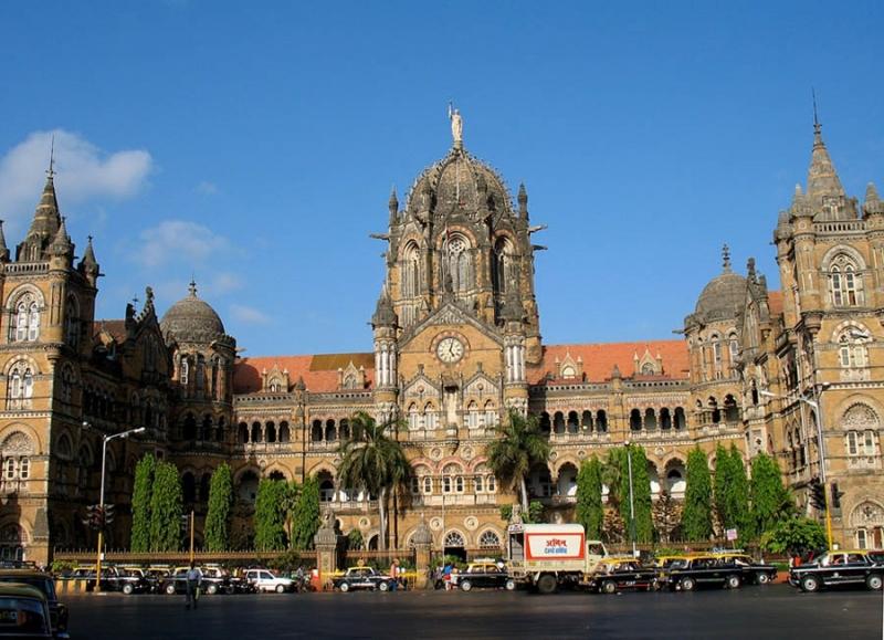 Estación de Victoria en Bombay