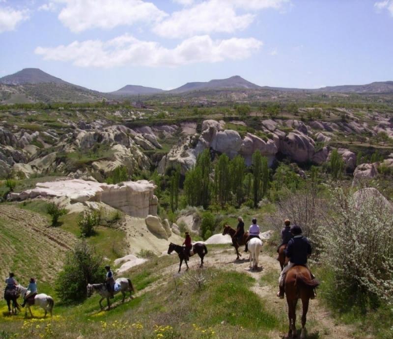 Rando à Cheval en Cappadoce