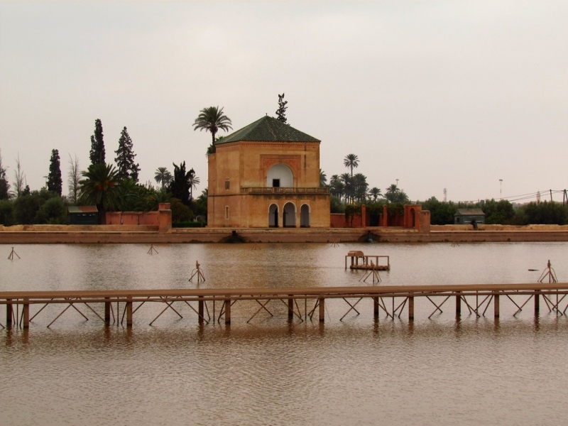 The Menara Garden in Marrakech