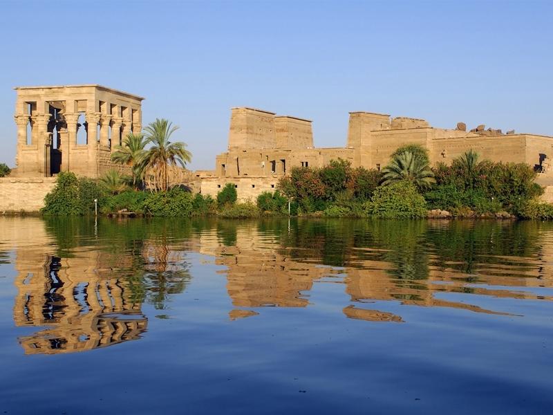 アスワンのイシス神殿、エジプト