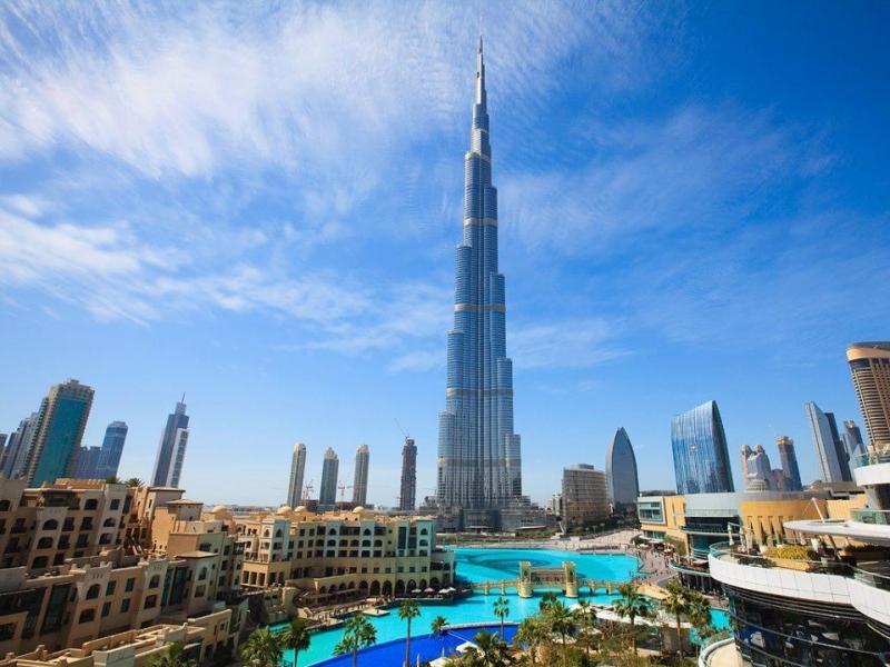 Burj Khalifa, Edificio Più Alto del Mondo