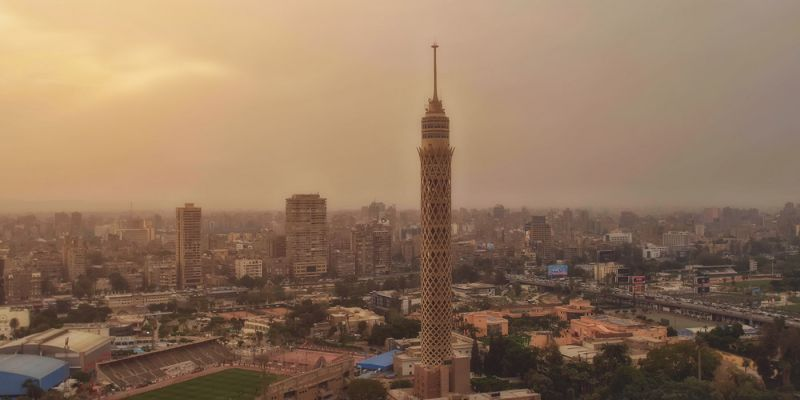 O bairro de Zamalek