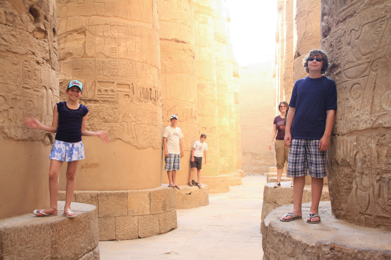 The Great Hypostyle Hall, Karnak Temple in Luxor
