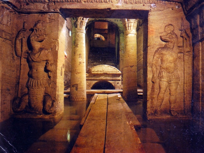 Wall Reliefs,Catacombs, Alexandria
