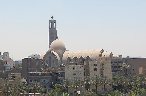Coptic Cathedral in Abbasiya