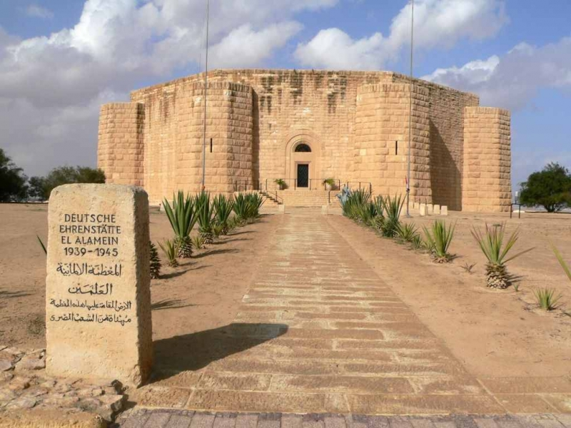 El Alamein Citadel and Graves
